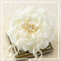 リングピロー アイボリーローズ 68721 クロバー 結婚 記念 手作り 結婚式 ウェディング ウェディングキット 裁縫 ホビー プレゼント