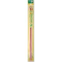 「ニューカラー」 2本針15号 46345 クロバー クローバー 棒針 編み針 あみ針 編み物 編む 手芸用品 手編み 裁縫 趣味 ホビー 手作り