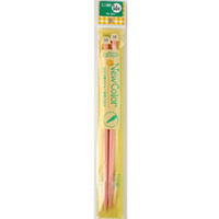 「ニューカラー」 ミニ棒針 2本針14号 46384 クロバー クローバー 棒針 編み針 あみ針 編み物 編む 手芸用品 手編み 裁縫 趣味 ホビー 手作り