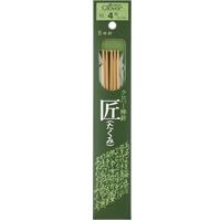 棒針「匠」5本針 短 16cm 4号 54354 クロバー 棒針 手芸 編み物 手編み 手あみ 手作り 趣味 クローバー 匠