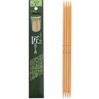 棒針「匠」4本針[短] 20cm 8号 54458 クロバー 棒針 手芸 編み物 手編み 手あみ 手作り 趣味 クローバー 匠