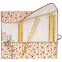 棒針ケース[キルト] 55912 クロバー 手芸用品 棒針 編み針 ケース 編み物用品ケース キルト クローバー 趣味 ホビー 手作り クラフト