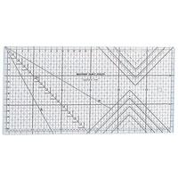 ミシンキルト定規30cm 57617 クロバー 手芸用品 裁縫 定規 キルト用さし クローバー 趣味 ホビー 手作り
