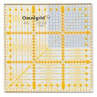 オムニグリッド定規 15×15cmG 57621 クロバー 手芸用品 裁縫 定規 キルト用 さし クローバー 趣味 ホビー 手作り