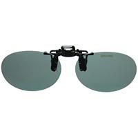 偏光サングラス クリップサングラス CP-10SMP2 [フリップアップ] スポルディング 偏光グラス ゴルフ UV カット 跳ね上げ メガネの上からサングラス