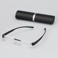 老眼鏡 ブライトグラス2 ブラック carton 男性 女性 おしゃれ