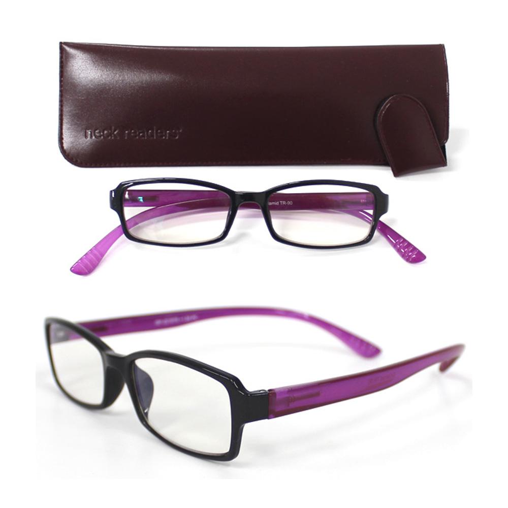 老眼鏡 シニアグラス リーディンググラス パープル 女性 おしゃれ レディース 男性 携帯用 ブルーライトカット 折りたたみ 2.0 1.5 1.0 おすすめ PCメガネ パソコンメガネ ネックリーダー プレミアム 可愛い