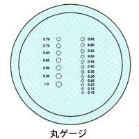 カートン 工作用顕微鏡 [ツールスコープ] オプション スケール [φ19] 丸ゲージ 顕微鏡 スケール ツールスコープ 目盛 観察 検査 拡大 カートン