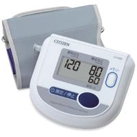 かんたん血圧計 上腕式 ワンボタン測定 CH-453F CITIZEN [シチズン] 血圧計 測定 健康 脈拍