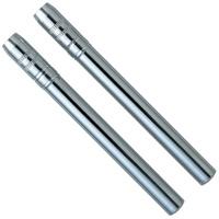 鉛筆キャップ 補助軸 二本組 キャップ 学校 鉛筆 事務用品 ペンシル エクステンダー デビカ