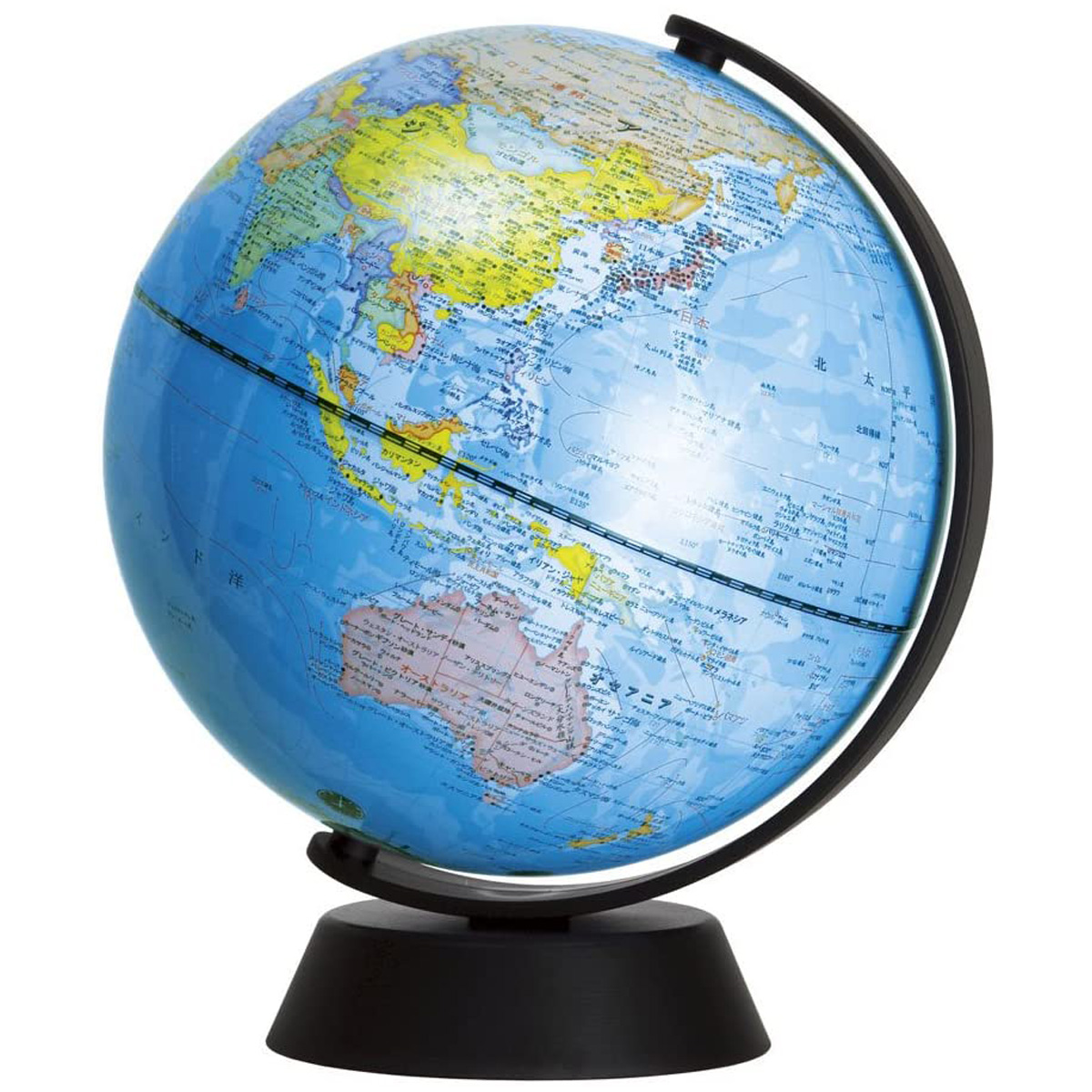 地球儀 球径20cm グローバ地球儀20 子供用 インテリア 学習 入学祝い コンパクト 軽い 小さい 卓上 デビカ