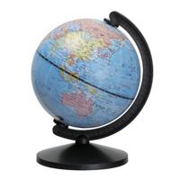 地球儀 スモールワールド ブラック 球径13cm 子供用 インテリア 小型 デスクトップ 卓上 日本語 世界地図 社会