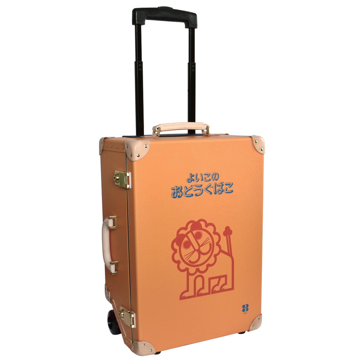 よいこのおどうぐばこ キャリーバッグ スーツケース 1年保証 機内持ち込み 2泊3日 ライオン柄 らいおん かわいい 人気 デビカ