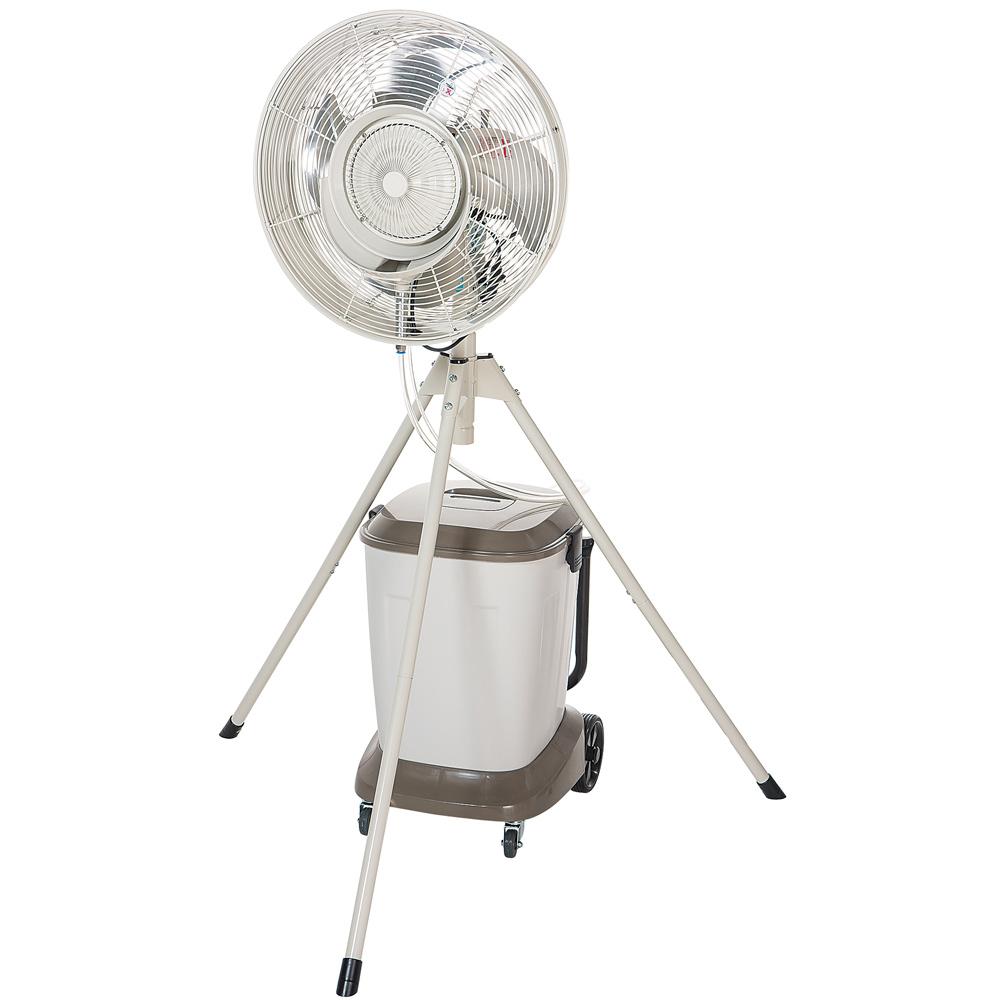 ナカトミ 遠心分離式ミストファン 全閉式 MISF-45 業務用 大型 工場扇 扇風機 サーキュレーター 送風機 熱中症対策 粉塵 乾燥防止