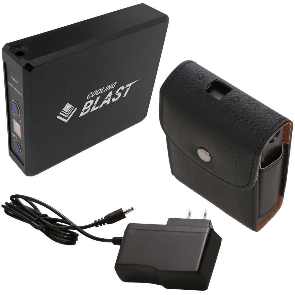 バッテリーセット[バッテリー+充電器] COOLING BLAST LX-6700BA リンクサス 夏 熱中症対策 空気循環 送風機 循環扇用充電器