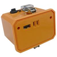 バッテリー LED-10WB [作業用投光器LED-10W用] 予備バッテリー LED投光器用 バッテリー投光機用 照明 投光機用 工事用照明