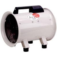 200mm 軸流送排風機 「全閉式 単相100V」NJF-200 008008 ナカトミ