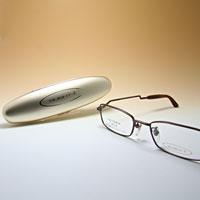 [シニアグラス] カンダオプティカル スライト2 ブラウンマット 老眼鏡 強度 男性 おしゃれ
