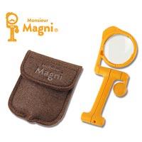 変幻磁在マグネット付 ルーペ ムッシュマグニ 3.5倍レンズ SL-64 エンジニア 虫眼鏡 虫めがね 拡大鏡 スタンドルーペ 手芸 賞味期限・時刻表確認 ネイル