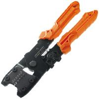 精密圧着ペンチ ダイス交換式 PAD-11 エンジニア ワイヤーストリップ カッター機能付き 工具 ペンチ プライヤー