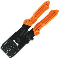 精密圧着ペンチ ダイス交換式 PAD-13 エンジニア ワイヤーストリップ カッター機能付き 工具 ペンチ プライヤー