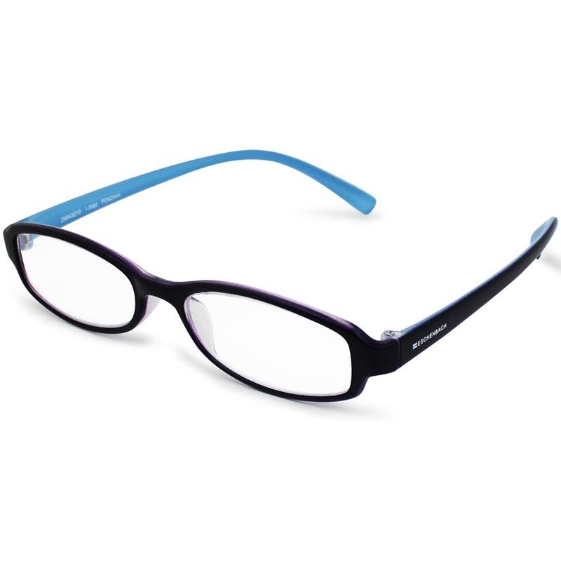 シニアグラス リーディング パープル×ブルー エッシェンバッハ 老眼鏡 おしゃれ 男性 女性 メンズ レディース 敬老 プレゼント