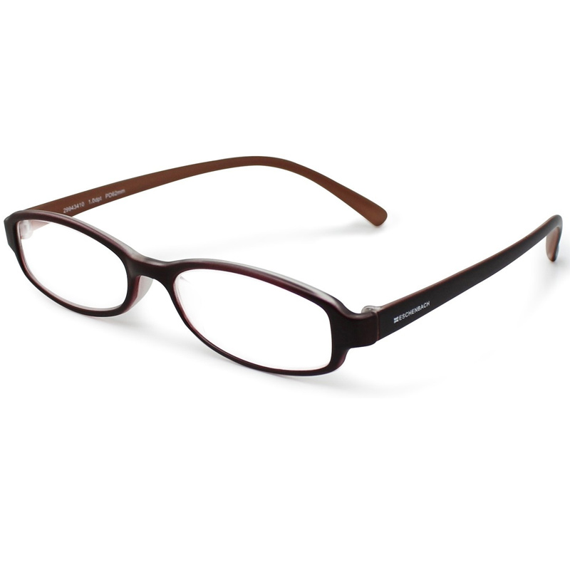 シニアグラス リーディング ブラウン×ブラウン エッシェンバッハ 老眼鏡 おしゃれ 男性 女性 メンズ レディース 敬老 プレゼント