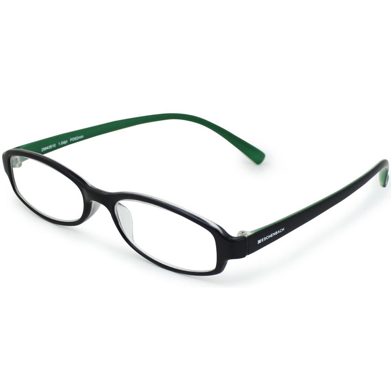 シニアグラス リーディング ブラック×グリーン エッシェンバッハ 老眼鏡 おしゃれ 男性 女性 メンズ レディース 敬老 プレゼント