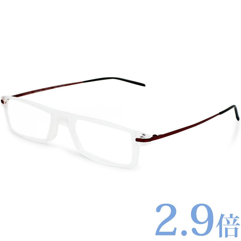 シニアグラス ミニフレーム ビフォ +3.0度 2.9倍 エッシェンバッハ 老眼鏡 ルーペ 眼鏡 ルーペ眼鏡 おしゃれ メンズ レディース プレゼント ギフト