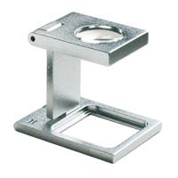 リネンテスター 8倍 17.6mm 繊維の織りあがりや印刷などの検査用 1256 [precision metal linen testers] エッシェンバッハ