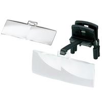 ラボ・クリップ [labo-clip] クリップ + レンズ 2枚セット 1.7・3倍 眼鏡にはさむ クリップタイプ 両眼レンズ 1646203  ヘッドルーペより気軽です エッシェンバッハ