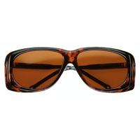 オーバーサングラス アンバー 小 紫外線や花粉を防ぐサングラス 16605111 保護メガネ 粉じん UVカット メガネの上から [cut-off filter spectacles] 紫外線カット