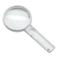 虫眼鏡 読書用ルーペ 2.25倍 80mm 簡易タイプ 261280 クリスタルルーペ economic エッシェンバッハ