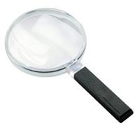 虫眼鏡 手持ちルーペ 2倍 120mm 定番 2642120 広視野ルーペ [biconvex magnifiers] エッシェンバッハ
