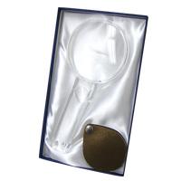 虫眼鏡 ルーペ ギフトセット [gift] 手持ちルーペ 2.25倍 ポケットルーペ 3.5倍 G7BW エッシェンバッハ