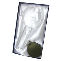 虫眼鏡 ルーペ ギフトセット [gift] 手持ちルーペ 2.25倍 ポケットルーペ3.5倍 G7GR エッシェンバッハ