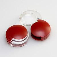 虫眼鏡 拡大鏡 非球面 ポケットルーペ 35mm 4倍 携帯用 モビレント 1710-14