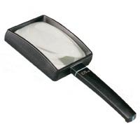 虫眼鏡 ブラックルーペ 角型 2.8倍 100×75mm 2655-175 拡大鏡 エッシェンバッハ エッシェンバッハ