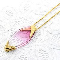 ニコン ペンダントルーペ クリスタル [ピンク] ネックレス