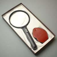 拡大鏡ギフトセット G-8 池田レンズ 虫眼鏡 ルーペ 拡大鏡