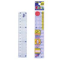 直定規 15cm 児童用 読み取りやすいガイド線付 G-FRIEND 文房具 さし 定規 ものさし 文房具 児童用