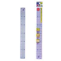直定規 30cm 児童用 読み取りやすいガイド線付き G-FRIEND 文房具 さし 30cm 定規 ものさし 文房具 児童用