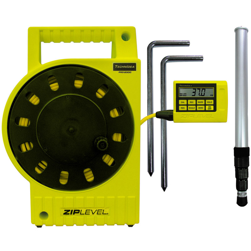 デジタル水盛器 高低差測定器 ジップレベルプロ2000 Zip Level Pro2000 阪神交易 テクニディア デジタル 水盛器 レーザー・水盛管使わず ワンタッチ測定 精度±0.2mm