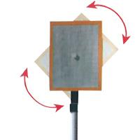 トゥルーパルス用 アタッチメント スーパーリフレクト100 高輝度プリズム反射板 [回転式] SRT-0100 LASER TECHNOLOGY