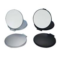 コンパクトミラー 拡大鏡 メイク [拡大ミラー] ナピュアミラー [鏡] リアルズームアップ プラス 両面 3倍 RC-03 折りたたみ 老眼 堀内鏡工業