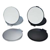 コンパクトミラー 拡大鏡 メイク [拡大ミラー] ナピュアミラー [鏡] リアルズームアップ プラス 両面 5倍 RC-05 折りたたみ 老眼 堀内鏡工業