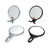 卓上ミラー 拡大鏡 メイク スタンドミラー 卓上 拡大鏡 メイク [拡大ミラー] ナピュアミラー [鏡] リアルズームアップ プラス 両面 スタンドハンド 5倍 RH-05 老眼 堀内鏡工業