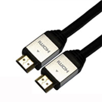 HORIC ハイスピードHDMI ケーブル 5.0m イーサネット 3D 4KX2K解像度 フルHD 対応 金メッキ端子 ホーリック