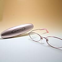 [シニアグラス] カンダオプティカル スライト2 ピンク 老眼鏡 強度 女性 おしゃれ