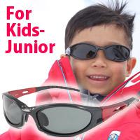 子供用 偏光サングラス UVカット ジュニア 子供 キッズ 池田レンズ UVカット 紫外線カット